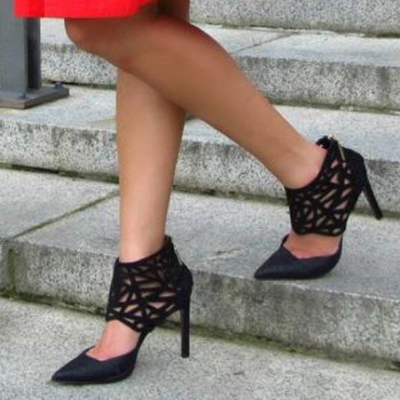 Dolce Vita Shoes - Dolce vita kadyn black leather pointed toe pumps